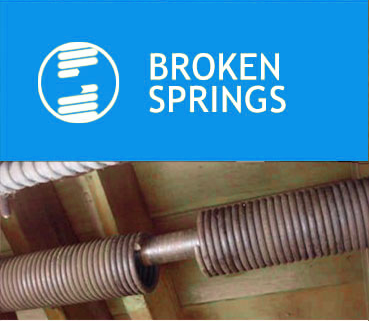 Fix Broken Springs with Phillips Garage Door